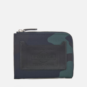 Porter-Yoshida & Co. Men's Shop Original Multi Wallet - Woodland Navy
