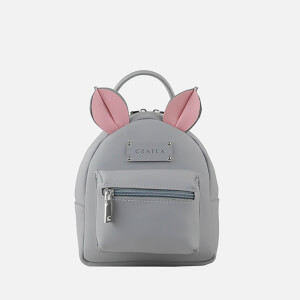 Grafea Women's Mini Zippy Mouse Backpack - Grey