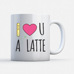 Kawaii I Love You A Latte Tasse