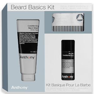Conjunto Beard Basics da Anthony