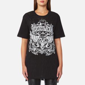 Versace Jeans Women's Jersey Logo T-Shirt - Black