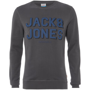 Jack & Jones Men's Originals Attach Sweatshirt - Asphalt