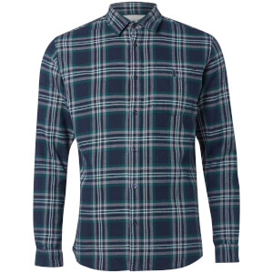 Chemise à Carreaux Homme Originals New Christopher Jack & Jones - Vert / Bleu