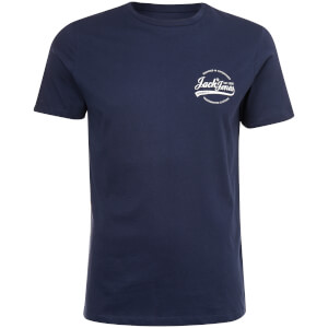 T-Shirt Homme Originals Raf Petit Logo Jack & Jones - Bleu Marine
