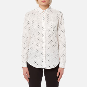 Joules Women's Lucie Classic Fit Shirt - Cream Spot