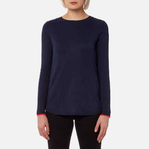 Joules Women's Tara Curved Hem Jumper - French Navy