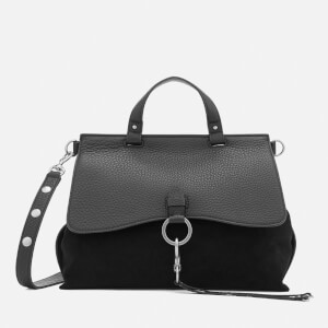 Rebecca Minkoff Women's Ring and Clip Medium Satchel Bag - Black