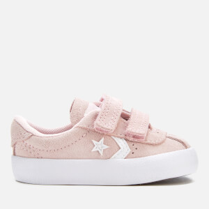 Converse Toddlers' Breakpoint 2V Suede Ox Trainers - Arctic Pink/Arctic Pink/White