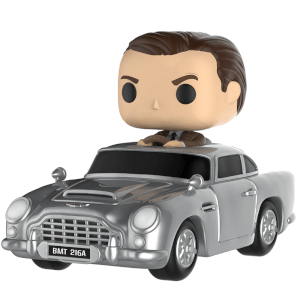 Figurine Pop! James Bond dans Aston Martin - James Bond