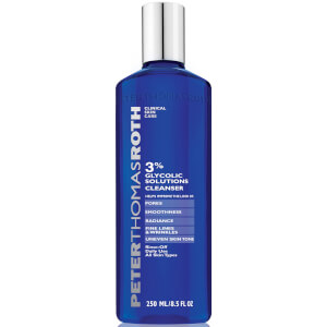 Gel Nettoyant Glycolic Acid 3 % Peter Thomas Roth 240 ml