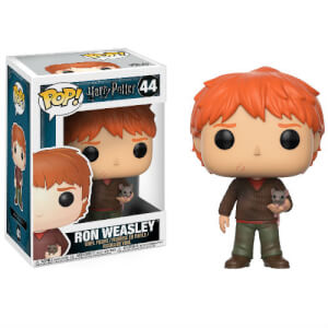 Harry Potter Ron Weasley with Scabbers Funko Pop! Vinyl