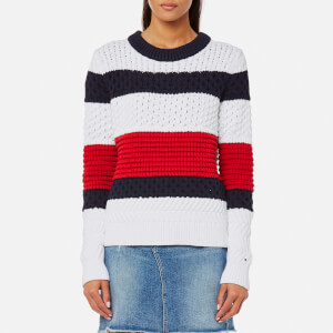 Tommy Hilfiger Women's Alexia Block Sweater - Multi