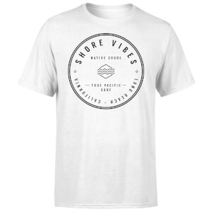 T-Shirt Homme Shore Vibes Native Shore - Blanc