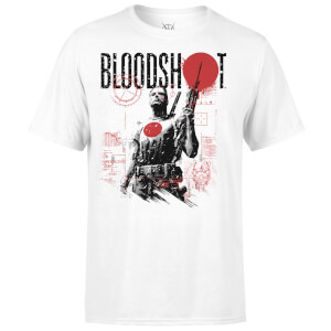T-Shirt Homme Graphique Bloodshot Valiant Comics - Blanc