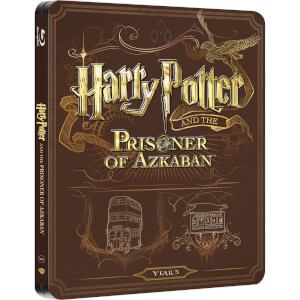 Harry Potter et le Prisonnier d'Azkaban - Steelbook Édition Limitée