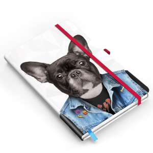 Go Wild Dog Notebook from I Want One Of Those