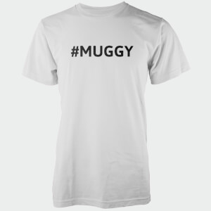 Hashtag Muggy Men's White T-Shirt