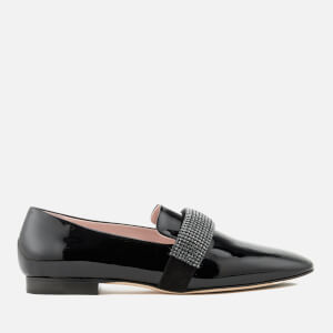 Christopher Kane Women's Crystal Band Loafers - Black