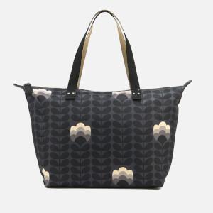 Orla Kiely Women's Zip Shopper Bag - Dusk