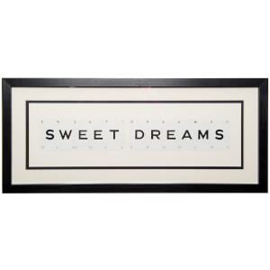 Vintage Playing Cards Sweet Dreams Framed Wall Art
