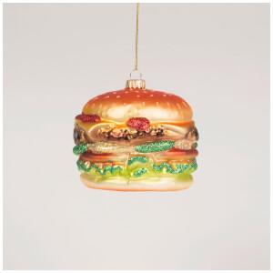 Sass & Belle Big Fat Burger Bauble