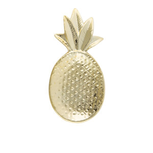 Sass & Belle Gold Pineapple Shaped Trinket Dish