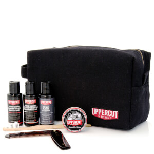 Uppercut Deluxe Wash Bag - Filled Black