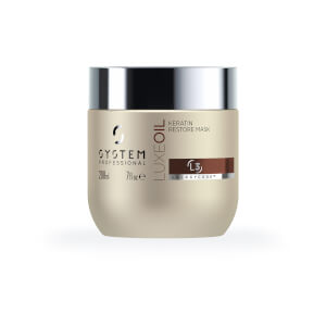 System Professional Luxe Keratin Restore Mask 200ml