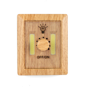 Wooden Dimmer Light from I Want One Of Those
