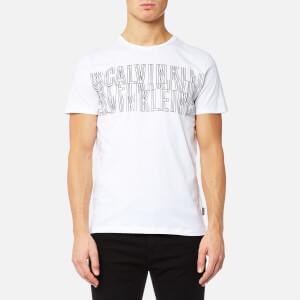 Calvin Klein Men's Japet Chest Print T-Shirt - Perfect White