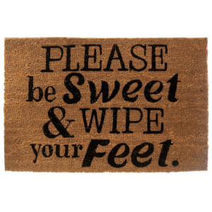Premier Housewares Please Be Sweet Doormat