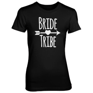 Bride Tribe Women's Black T-Shirt