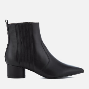 Kendall + Kylie Women's Laila Leather Heeled Chelsea Boots - Black