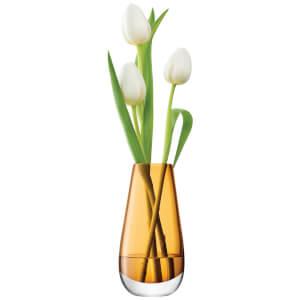 LSA Flower Bud Vase - 14cm - Amber