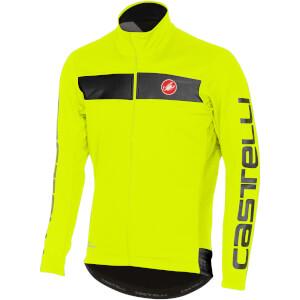 Castelli Raddopia Jacket - Yellow Fluo/Reflex