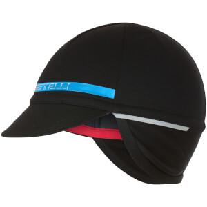 Castelli Difesa 2 Cap - Black/Sky Blue