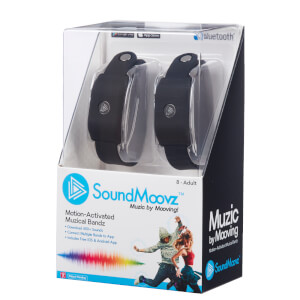 SoundMoovz Musical Bandz - Black