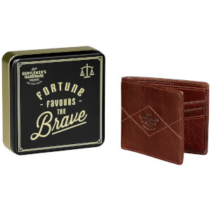 Gentlemen's Hardware Bi-Fold Leather Wallet - Tan