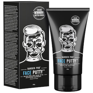 BARBER PRO Face Putty Black Peel-Off Mask 90g Tube