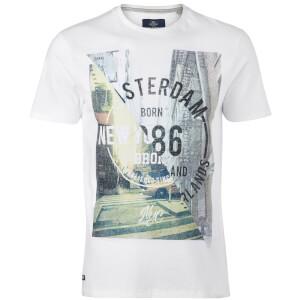 Camiseta Threadbare Spliced - Hombre - Blanco