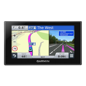 "Garmin Nuvi 2589LM 5"""" Bluetooth Sat Nav With UK & Full Europe Maps (Free Lifetime Map Updates)"
