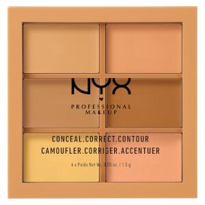 NYX Professional Makeup 3C Palette - Conceal, Correct, Contour - Medium