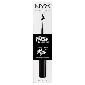 Жидкий матовый лайнер NYX Professional Makeup Matte Liquid Liner - Black