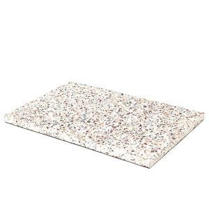 Broste Copenhagen Iben Rectangular Plate - Terrazzo
