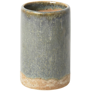 Broste Copenhagen Slim Ceramic Vase - Chinois Green
