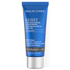 Paula's Choice Resist Anti-Ageing Skin Restoring Moisturizer SPF 50 - Travel Size