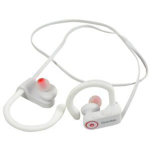 AV: Link Waterproof Wireless Bluetooth In-Ear Activity Earphones - White