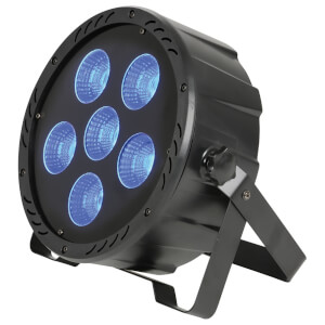 QTX High Power 6 x COB LED Plastic Par Can