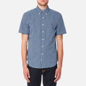 Polo Ralph Lauren Men's Oxford Short Sleeve Shirt - Indigo/White