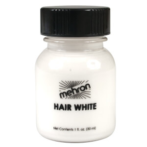mehron Hair White Colorant 30ml